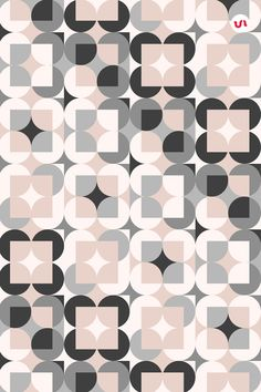 20 Geometric Play - Seamless Vector Patterns They are minimal and at the same time playful, geometric patterns in a lovely color palette with soft tones. Geometric Pattern Design, Graphic Patterns, Tile Patterns, Geometric Designs, Pattern Art, Abstract Pattern, Textures Patterns, Geometric Shapes, Color Wheel Art
