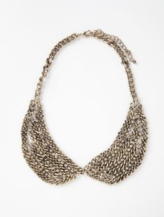 Chain Peter Pan Collar Necklace by Lori's Shoes - New Arrivals - Lori's Designer Shoes, The Sole of Chicago