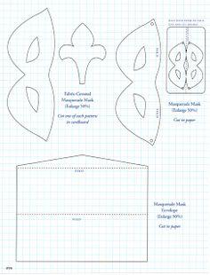 [Make Your Mark DIY] Masquerade Mask Greeting Card | Mark Montano's Blog
