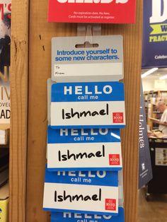 Hello, my name is Ishmael