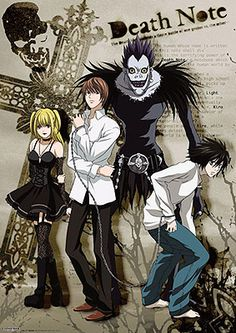 Death Note Manga Charatcers