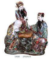 Antique furniture Chinese ceramic statues
