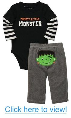 Carter's Baby Boys Halloween Take Me Away 2-pc Set - Black #Carters #Baby #Boys #Halloween #Take #Away #2-pc #Set #Black