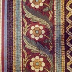 Mosaic Flower Pots, Mosaic Pots, Mosaic Garden, Mosaic Tile Art, Pebble Mosaic, Mosaic Glass, Floor Murals, Floor Art, Mosaic Designs
