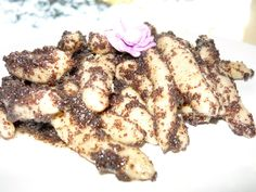 domace-zemiakovo-makove-sulance Dumplings, Deserts, Healthy, Sweet, Poppy, Food, Basket, Candy, Essen