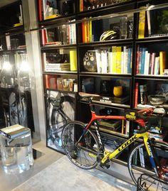 Decoração com livros - Bike studio lover - Revista Westwing