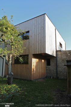 Extension et surélévation d'une maison en bois