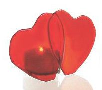 Home decor 4 Seasons - SWEETHEART RED GLASS TEALIGHT, $11.95 (http://www.homedecor4seasons.com/sweetheart-red-glass-tealight/)