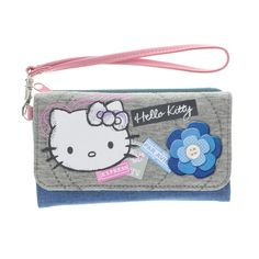 Hello Kitty Vintage Design Wristlet Wallet, Hello Kitty, Purses, Bags & Purses, all, Accessories, Bags & Purses, Brands Fashion trends, accessories and jewellery for young women