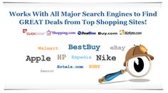 Welcome to Shopping Sherlock!  Find the BEST DEAL and save money!!!