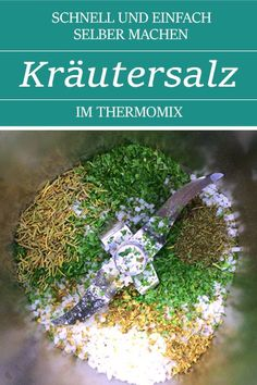 Make herbal salt yourself. Fast & easy with the Thermomix. Also a great gift idea. : Make herbal salt yourself. Fast & easy with the Thermomix. Also a great gift idea. Small Gifts, Great Gifts, Gifts For Colleagues, Winter Wallpaper, Seasoned Salt, Winter Painting, Winter Is Coming, The Conjuring, Gift Baskets