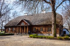 Rural Administrator manor house in Radziejowice, Poland