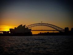 #sydney #sydneyharbourbridge #sydneyoperahouse #harbourbridge #operahouse #silhouette #sunset #sky #bridge #australia by explorer_mim http://ift.tt/1NRMbNv