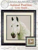 "Gallery.ru / tr30935 - Альбом ""CSB-188 Animal Profiles. Grey Horse"""