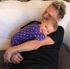 Martin Gore with his babe. So cute! by Kerrilee Gore