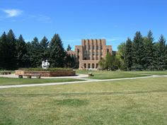 Arts & Sciences Building at the University of Wyoming
