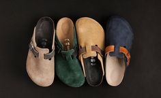 Birkenstock 2-Tone Bostons (find more cool stuff at www.redundant-magazine.com)