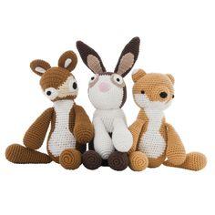 Sebra Knuffeldier Crochet animal