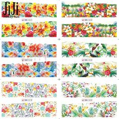 1x HOT DIY Colorful Flowers Water Transfer Sticker Decorations Nail Art Beauty Nail Art Decals Manicure Polish Tools#BN013 024 on Aliexpress.com   Alibaba Group