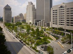 Citygarden St. Louis MO by Nelson Byrd Woltz LA -