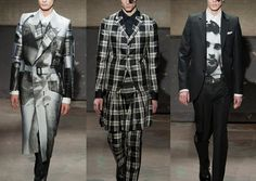 London Menswear Autumn/Winter 2014   Print Highlights Part 1 catwalks