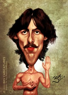 George Harrison - Caricature
