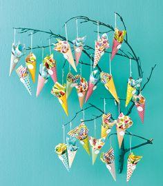 Advent Cones Calendar #adventcalendar