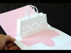 Louis Vuitton Bag Pop-up Card - YouTube