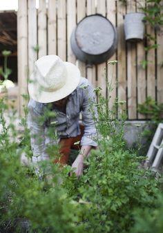 Gartenarbeit und ganz viel Nix