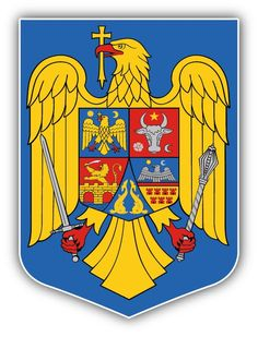 Romania Coat Of Arms Car Bumper Sticker Decal Von Hohenzollern, Hard Hats, Car Bumper Stickers, Fade Color, How To Treat Acne, Dark Spots, Coat Of Arms, Romania, Places