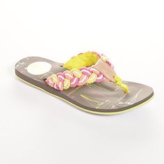 Cape Cod Shoe Supply Womens Bitter End YC Flip Flops 7 >>> Check out the image by visiting the link.