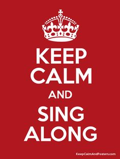 sing along pop music