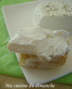 Petit fromage de chèvre (fait avec yaourtière multi-délices)