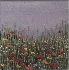 Jo Butcher, Embroidery Artist - Flower Meadow