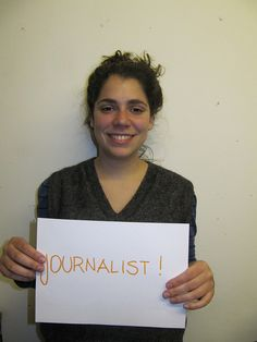 She would be a journalist if she had the right skills Campaign, Youth, Bucket, Buckets, Young Man