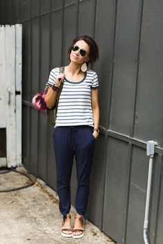 Summer Pants That Aren't Jeans. this year there are other options—there are so many lightweight, chic, cotton pants out for summer! I'm so excited to share the ones I've found with you because surely I'm not the only one who hates shorts, dies in jeans, and needs something cute to wear all summer?