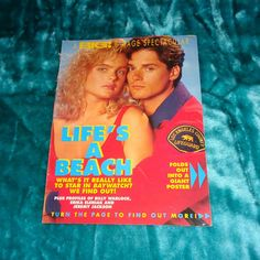 Very Rare Baywatch Big Magazine 8 Page Spectacular TV Memorabilia Life's a Beach Stunning Gatefold Poster Billy Warlock As Eddie Lifeguard Billy Warlock, Erika Eleniak, Births, Baywatch, Lifeguard, Big Star, 90s Fashion, 1960s, How To Find Out