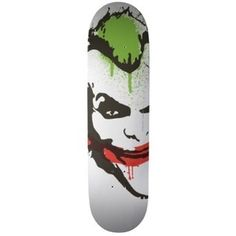 Joker Graffiti Custom Skateboard