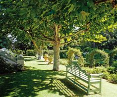 Traditional Garden by Graham Viney in Cape Town, South Africa
