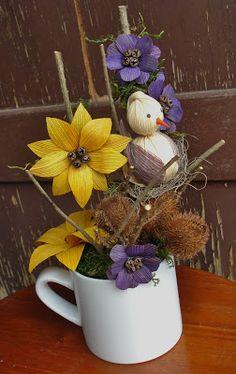 Xmas Flowers, Dried Flowers, Paper Flowers, Corn Husk Crafts, Sisal, Corn Husk Dolls, Grapevine Wreath, Grape Vines, Wreaths