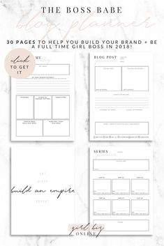 This item is unavailable Blog Planner, Planner Pages, Printable Planner, Planner Sheets, Project Planner, Goals Planner, Planner Ideas, Happy Planner, Free Printables