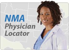 Look for a physician visit NMA's physician locator