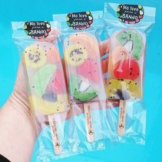 Ice Cream Packaging, Soap Packaging, Candy For Sale, Ice Cream Business, Jelly Soap, Handmade Soap Recipes, Soap Melt And Pour, Ice Candy, Whipped Soap