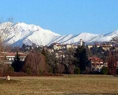 #Biella #Piazzo # mountains #snow #Biellese #Italy  #Visit_Piedmont #landscape