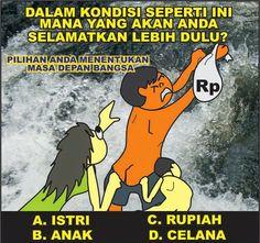Mana yang akan Anda selamatkan lebih dulu? - #Meme - http://www.indomeme.com/meme/mana-yang-akan-anda-selamatkan-lebih-dulu/