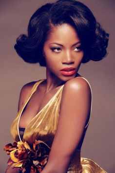 Pretty make up black woman brown skin darker skin tones medium skin tone Brianna Michelle