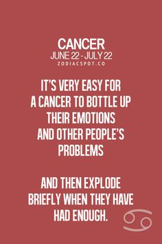 We explode when everyone least expects it... We are the silent ticking time bombs. #Cancer #Cancerian #Moonchild