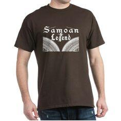 Samoan Legend Dark T-Shirt