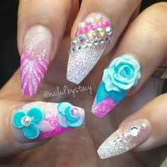 tropical vacation by NailedByStacy from Nail Art Gallery