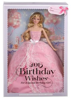 Gift she wants - Birthday Wishes Barbie doll 2015